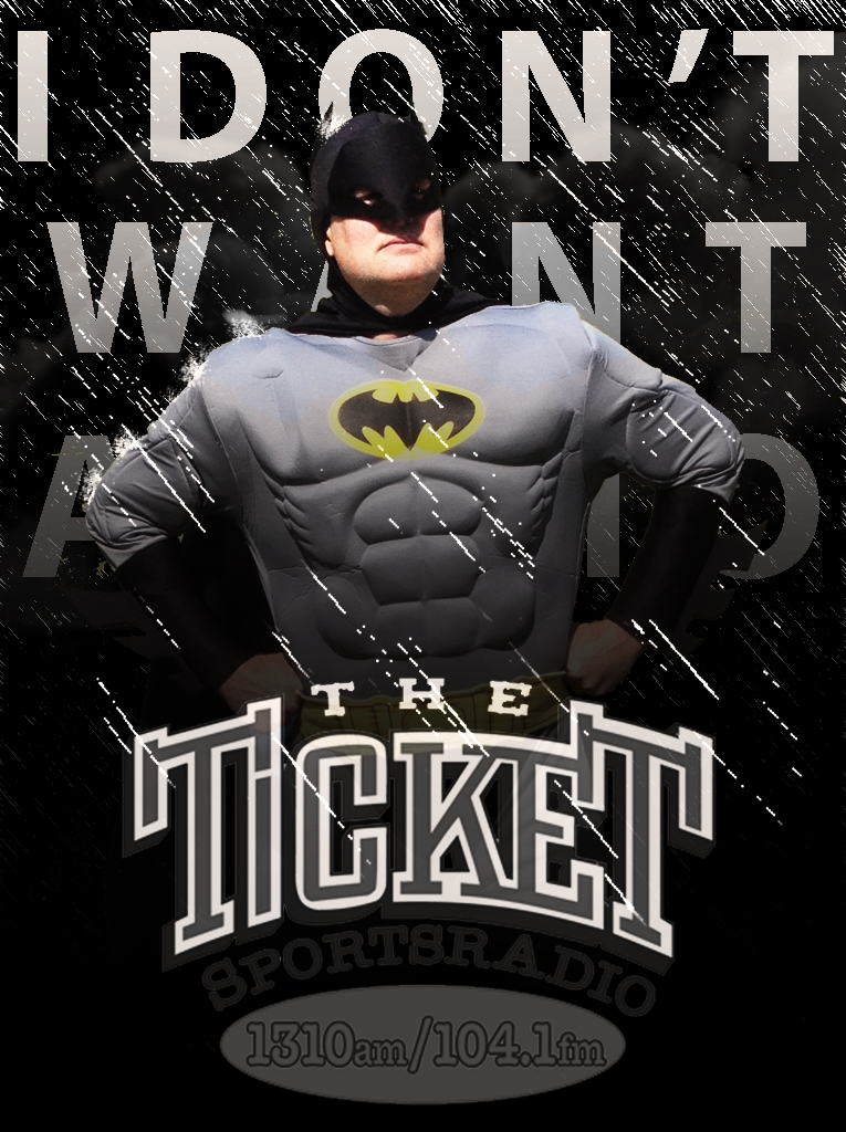 Dan Batman Ticket