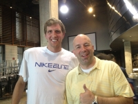 Bob and Dirk Nowitzki